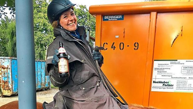 Prost - Bier auf Tier - DONAUKURIER - Wanderreiten im Havelland